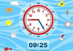 Blog de los niños: Juegos para aprender las horas del reloj