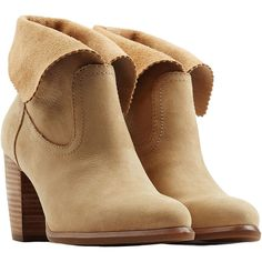 UGG Australia Thames Suede Boots ($96) ❤ liked on Polyvore