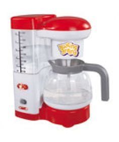 Do you have someone in your family who is addicted to #coffee? Get hands on Buzzing Brains #coffeemaker that comes in white and red color. It contains in build lightning for that extra modern appliance touch.