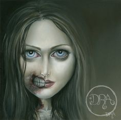 The Maneater Giclee on Watercolor Paper by deannaadona on Etsy, $25.00
