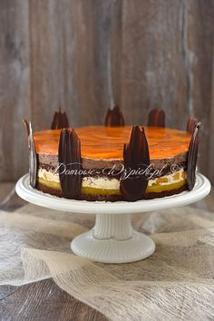 Torte mit Pfirsichen Ambassador- Torte mit in Russia Events from the year 1887 in Russia Media related to 1887 in Russia at Wikimedia Commons Best Sweets, Gorgeous Cakes, Sponge Cake, Food Cakes, Cake Creations, Cakes And More, Baked Goods, Yummy Treats, Gingerbread