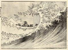 The Big wave - Katsushika Hokusai