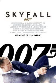 Theatrical poster for Skyfall (2012). Check out my review at the link!
