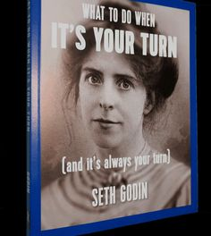 Seth Godin's new book, in magazine format, available directly from him
