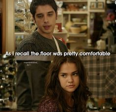 """#TheFosters 2x11 """"Christmas Past"""" - Brandon and Callie"""