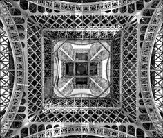 Beneath the Eiffel Tower *