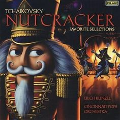 This album contains Selections from Tchaikovsky's NUTCRACKER BALLET performed by the Cincinnati Pops Orchestra, as conducted by Erich Kunsel.