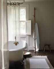 Image result for linen shower curtain