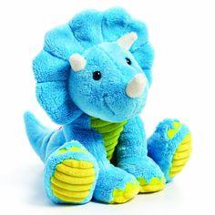 Nat and Jules Dinopals Plush Toy, Triceratops Toppie Dinosaur Toys, Dinosaur Stuffed Animal, Stuffed Animals, Animal Heads, Ty Beanie, Cute Toys, Baby Boy Rooms, Baby Store, Plush Animals