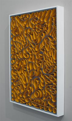 modern, Original artwork, sculpture, abstract art, canvas on edge, fine art, blue, ocean, water, coastal art, seattle, jason hallman, stephen stum, orange