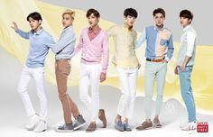 #EXO - 141127 Lotte Duty Free website update