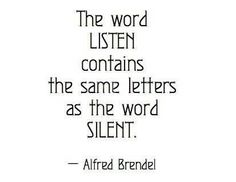 Listening Quotes & Sayings, Pictures and Images