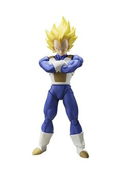 A new portrayal of the legendary Super Saiyan. Replicate key poses from the series while using option parts to capture his full range of expressions! Includes parts letting you re-create his traditional crossed-arms pose, a series first. And you can even display him alongside Super Saiyan Trunks... more details available at https://perfect-gifts.bestselleroutlets.com/gifts-for-teens/toys-games-gifts-for-teens/product-review-for-bandai-tamashii-nations-s-h-figuarts-super-saiya
