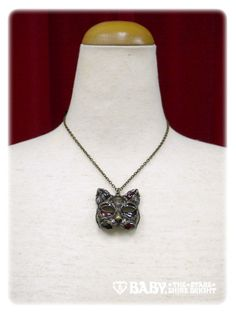 Alice and the Pirates Cat mask necklace
