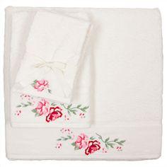 Flower towels.