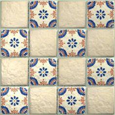 LeMog - 3dTextures - Carrelage Azuleros Motifs 3 - Tiles/431 carros