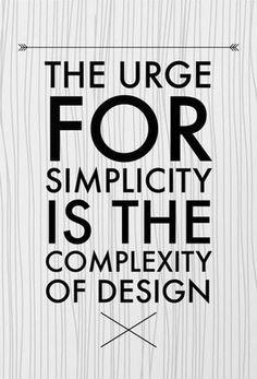 Mini Complex Simplicity Art Print