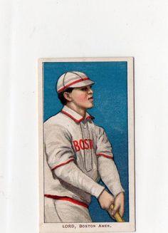 1909-11 T206 Harry Lord Boston Red Soxs Piedmont Cigarette  #BostonRedSox