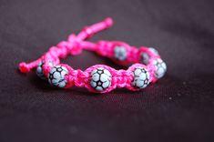 Soccer bracelet /  Trendy Soccer Mom / Soccer / Girls / Boys / Soccer Team / Gift Exchange / Goody Bag / Sports Jewelry / Sports via Etsy