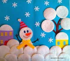 New Year's crafts for 2018 - 60 interesting ideas - Hooray! And this means that it's time to do New Year's crafts for This fascinating Kids Crafts, New Year's Crafts, Easy Christmas Crafts, Christmas Crafts For Kids, Christmas And New Year, Diy And Crafts, Christmas Decorations, Arts And Crafts, Winter Art Projects