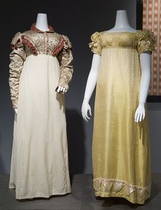 Spencer and Evening dress, c 1815