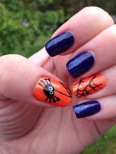 Halloween nails CRH