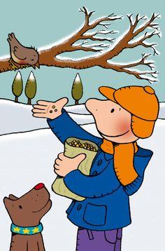 "Welkom in ons kleuterklasje!het is koud!"" Welkom in ons kleuterklasje!het is koud! Snow Theme, Winter Theme, Winter Kids, Winter Art, Communication Orale, Sequencing Pictures, Human Drawing, Winter Project, Illustrations"
