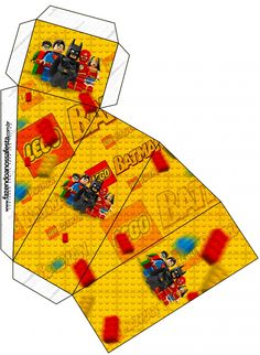 Caixa Fatia Batman Lego Super Heroes: