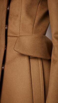 Tailored Peplum Coat | Burberry_AW13