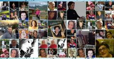 Foto collage di fino a 50 amici da Facebook. Crea il tuo!