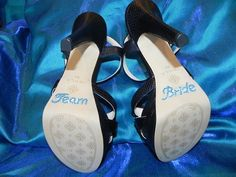 Équipe mariée strass chaussure Stickers - Crystal Shoe Set - mariée et demoiselle d'honneur chaussure Stickers