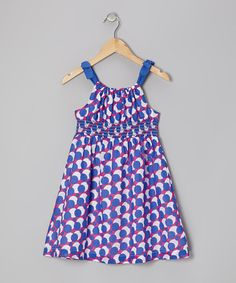 Take a look at this Purple Bubble Polka Dot Dress - Girls by Jojo Belle on #zulily today!