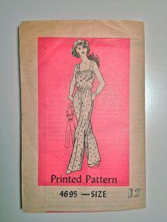 60's Mail Order Dress Pattern 4695 / Misses' by ElkHugsVintage, $10.00
