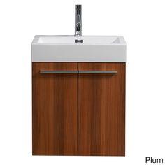 Virtu USA Midori 24-inch Single Sink Bathroom Vanity Set