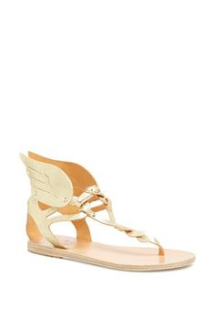Ancient Greek Sandals 'Xenia' Metallic Leather Thong Sandal | Nordstrom | $255 | 38U