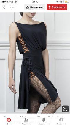 Espen for Chrisanne Clover Tulsa Latin Dress-Black/Animal Latin Ballroom Dresses, Ballroom Dancing, Latin Dresses, Tango Dress, Dance Shirts, Dance Fashion, Dance Outfits, Dance Wear, Nice Dresses