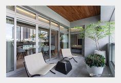 現代風陽台 Balcony Design, Design Case, Outdoor Decor, Modern, Home Decor, Style, Swag, Trendy Tree, Decoration Home