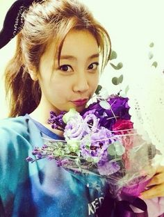 Girls' Day Sojin Shares Her Beauty That Stands Out More Than Her Flowers http://www.kpopstarz.com/articles/100772/20140724/girls-day-sojin-shares-her-beauty-that-stands-out-more-than-her-flowers.htm