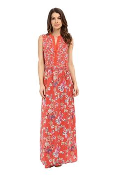 Floral Spring Dresses For Every Budget . Drawstring Maxi.
