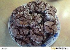 Čokoládové crinkles recept - TopRecepty.cz