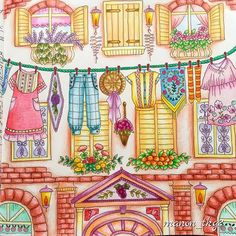Instagram media manon_tkg2 - 『初夏』壁も塗ったけど、写真じゃわからないですね 今年はフルーツ系のアイスが流行りらしいですが、私は季節を問わずハーゲンダッツかモナ王です(笑)。 #ロマンティックカントリー #ロマンティックカントリー3 #romanticcountrycoloringbook #eriy #コロリアージュ #coloriage #coloringbook #coloringbookforadults #color #coloringbooks #coloringbooksforadults #adutcoloringbook #coloriagepouradulte #coloriageadulte #beautifulcoloring #beautifulcolors #おとなの塗り絵 #おとなのぬりえ #おとなのぬり絵 #大人の塗り絵 #大人のぬりえ #ぬりえ