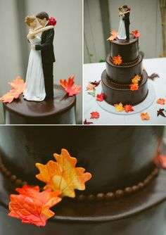 autumn wedding cake Wedding Things, Wedding Stuff, Dream Wedding, Autumn Inspiration, Wedding Inspiration, Wedding Ideas, Cupcake Cakes, Cupcakes, Wedding Photographer London