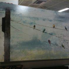 Horizontal art.  Home Goods in Hillside.  $99