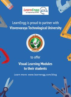 Visual Demonstrations of Visvesvaraya Technological University Engineering Subjects: Semester – Part 1 Engineering Subjects, Engineering Courses, Visual Learning, Student Learning, University, Students, Reading, Blog, Image