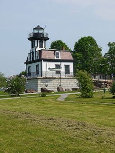 Colchester Reef lighthouse [1871 - Burlington, Vermont, USA]