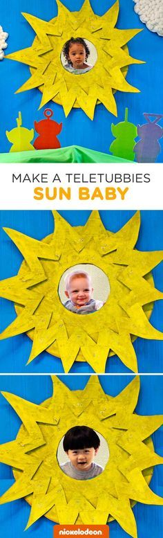 Paul the Dad teaches us how to craft that famous sun out of cardboard for adorable child photo ops! Paul is a Nickelodeon Parent (just like you). Paul loves making enormous dinosaur sculptures out of cardboard in his backyard (just like you???). OK, so maybe Paul isn't an average Nickelodeon dad, but he made us a DIY Teletubbies Craft that is simple, silly, and full of sunshine that you can recreate at home.