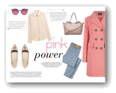"""Pink"" by alexandra-barbu-1 ❤ liked on Polyvore featuring M&S Collection, Quay, D&G, Valentino, ASOS and Chloé"