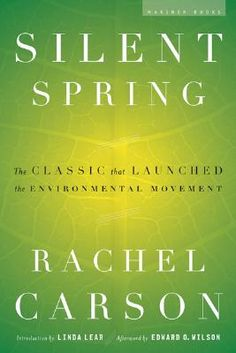 "On ‪this day in 1962, Rachel Carson published Silent Spring about the deleterious impacts that widespread and uncontrolled pesticide use in the U.S. was having on the environment. The chemical companies went on the offensive, calling her ""a fanatic defender of the cult of the balance of nature,"" and ""probably a Communist."" It was a pivotal moment and facilitated the U.S. ban of the pesticide DDT and further research into the disruptive effects of pesticides in the human body."