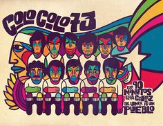 Colo Colo '73. Cool font for band flyers