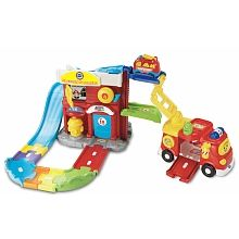 Vtech - Go! Go! Smart Wheels - Fire Command Rescue Center - French Edition